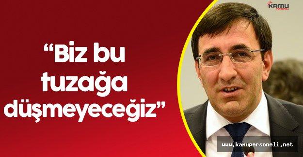 """AK Parti Genel Başkan Yardımcısı Cevdet Yılmaz: """" Terör Demokrasiden Hoşlanmaz"""""""