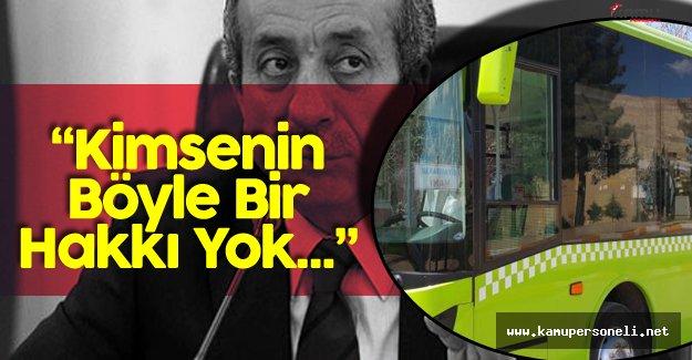 """AK Parti Genel Başkan Yardımcısı Eker: """"Kimsenin Belediye Araçlarını Çalıştırmamaya Hakkı Yok"""""""