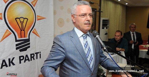 Ak Parti Genel Başkan Yardımcısı Yapılan Hizmetler Hakkında Konuştu