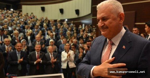 AK Parti MKYK Binali Yıldırım'ın Başkanlığında Toplandı