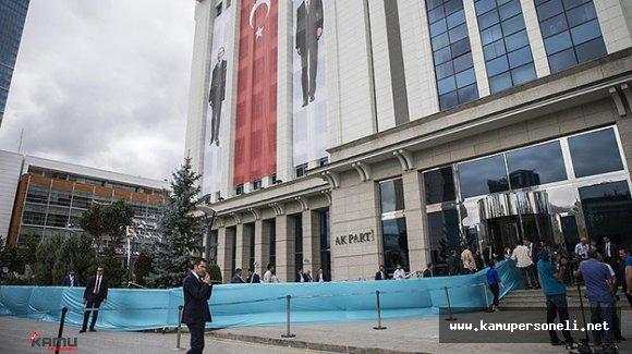 AK Parti'nin 15.Kuruluş Yıl Dönümü Sade Bir Törenle Kutlayacak