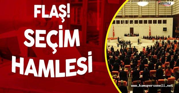 AK Partiden Flaş Seçim Sistemi Hamlesi !