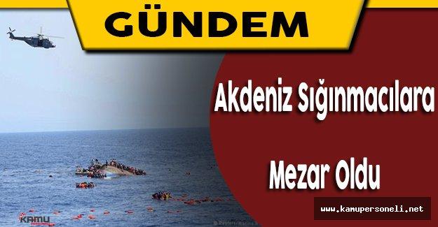 Akdeniz'de Can Veren Sığınmacıların Sayısı 3 Bini Aştı