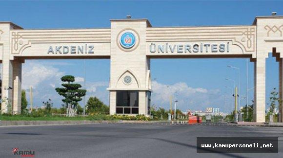 Akdeniz Üniversitesi'nde 150 Kişi Gözaltına Alındı