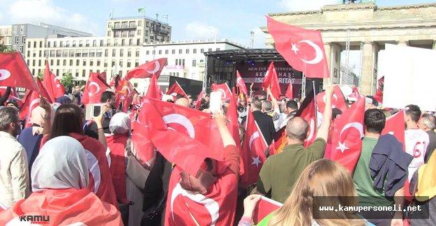 Alman Federal Meclisinde Oylanacak Ermeni Meselesi Protesto Edildi