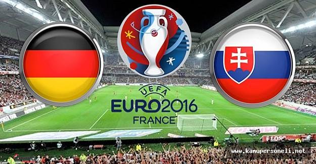 Almanya :3 Slovakya : 0  Maç Özeti  - Almanya Slovakya Maçı Golleri