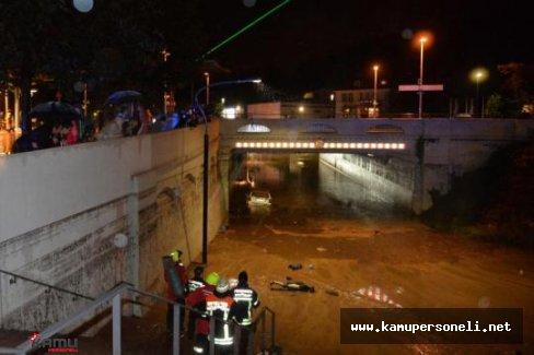 Almanya'da Fırtına ve Sel Felaketi : 4 Ölü