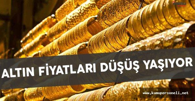 Altın Fiyatları Düşüş Yaşıyor