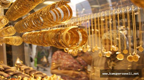 Altının Gram Fiyatı 131,3 Liradan İşlem Görüyor