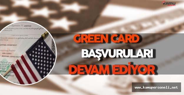 Amerikan Vatandaşlığı İçin Green Card Başvuruları Devam Ediyor