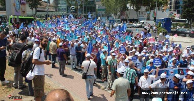 Anadolu Cam Sanayii'den Grev'de