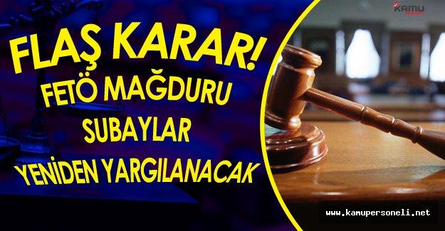 Anayasa Mahkemesinden Flaş Karar! Subaylara Yeniden Yargılanma İmkanı