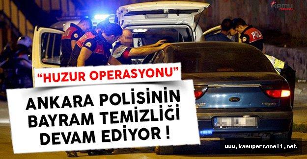 Ankara'da Binlerce Kişinin GBT'si Kontrol Edildi !