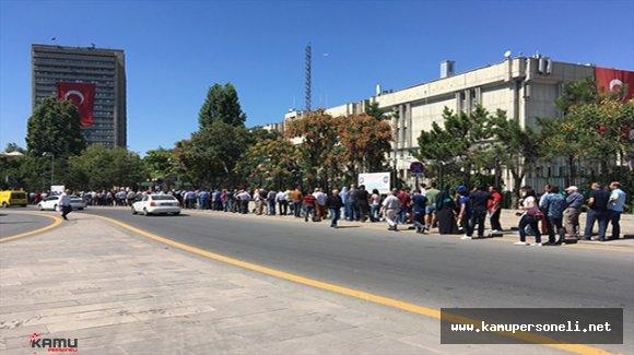 Ankara Emniyet Müdürlüğünde Durdurulan Hizmetler Yeniden Başladı