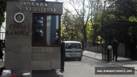 Ankara Üniversitesi'nde Cinayet : 4 ölü