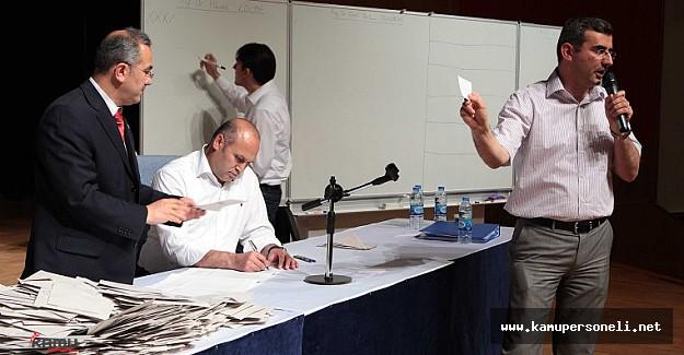 Ankara Üniversitesi Rektörlük Seçimleri Devam Ediyor