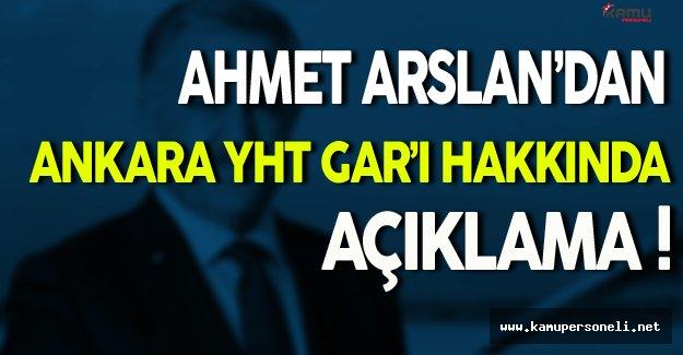 Ankara YHT Garı Yılda 15 Milyon Kişiye Hizmet Verecek