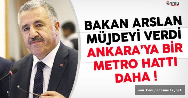 Ankaralılara Müjde Bir Metro Hattı Daha Geliyor
