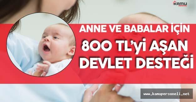 Anne ve Babalara 800 TL'yi Aşan Devlet Desteği Büyük İlgi Gördü