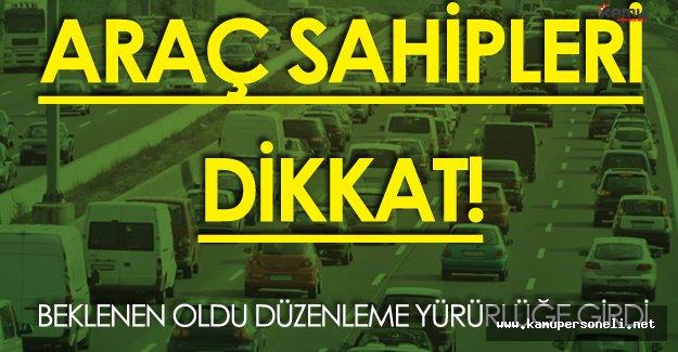Araç Sahipleri Dikkat! Beklenen ÖTV Düzenlemesi Resmi Gazete'de Yayımlandı