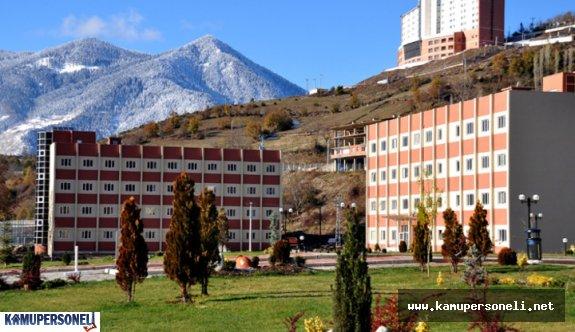 Artvin Çoruh Üniversitesi Memur Alımı