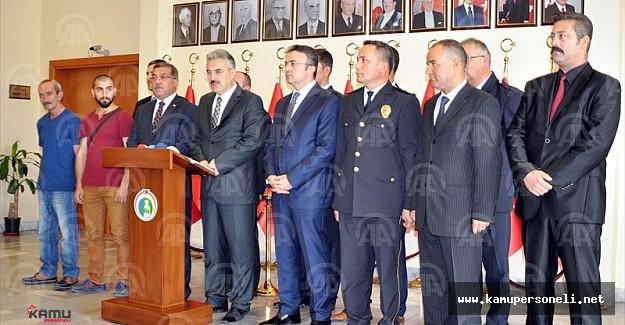 Atalay Filiz'in İzmir'de Yakalanmasını Sağlayan 8 Polis Ödüllendirildi