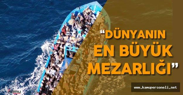Atay Uslu: Akdeniz Bugün Dünyanın En Büyük Mezarlığı
