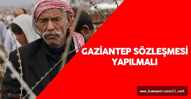 """Atay Uslu : """"Gaziantep Sözleşmesi'ni yapmanın zamanı geldi"""""""