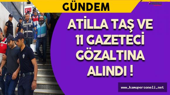 11 Gazeteci FETÖ Operasyonları Kapsamında Adliyeye Sevk Edildi !