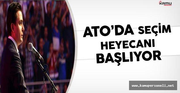 ATO'da Seçim Heyecanı Başlıyor:Gürsel Baran YSK'ya Başvurdu