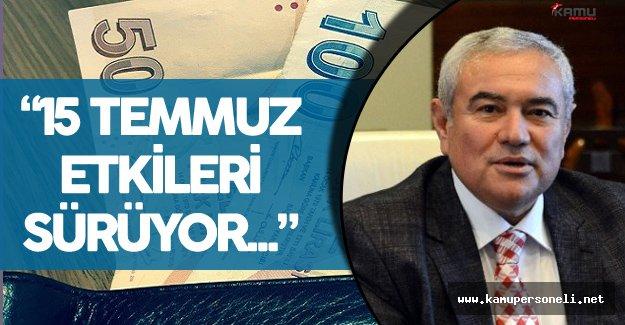 """ATSO Başkanı :"""" Cari Açık Azaldı Fakat Döviz İhtiyacı Sürüyor"""""""