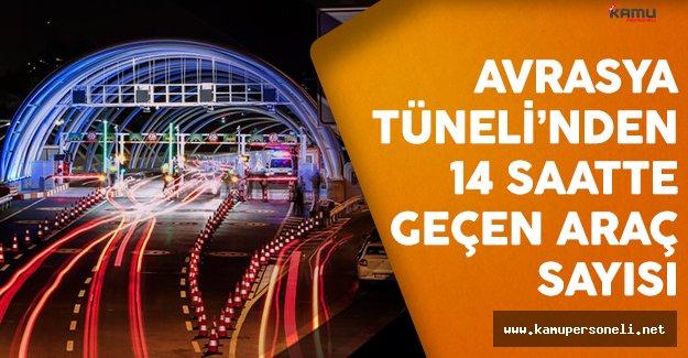 Avrasya Tüneli'nden rekor sayıda araç geçti
