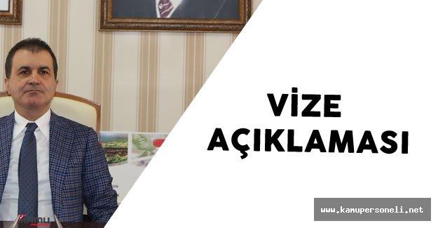 Avrupa Birliği Bakanı'ndan Son Dakika 'Vizelerin Kaldırılması' Açıklaması