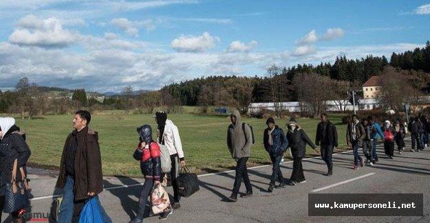 Avrupa'ya Sığınmacı Girişi Azaldı