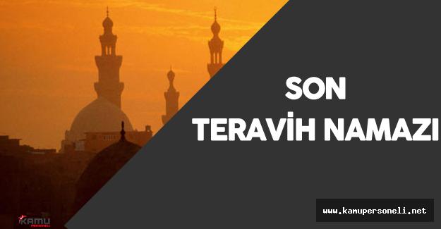 Avustralya'da Ramazan'ın Son Teravih Namazı Kılındı