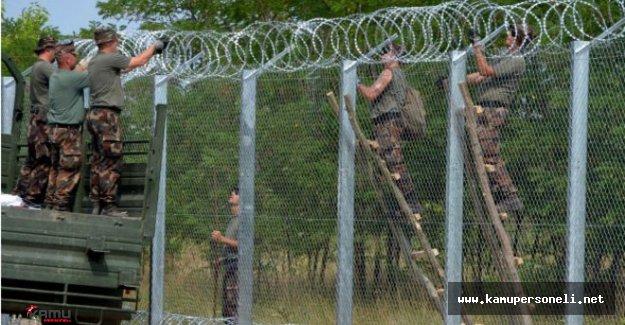 Avusturya Macaristan Sınırında Kontrol Krizi Patlak Verdi