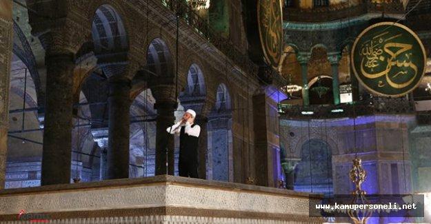 Ayasofya'da 85 Yıl Sonra Beklenen Oldu