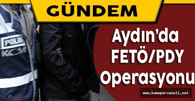 Aydın'da Düzenlenen FETÖ/PDY Operasyonunda 82 Kişi Gözaltına Alındı