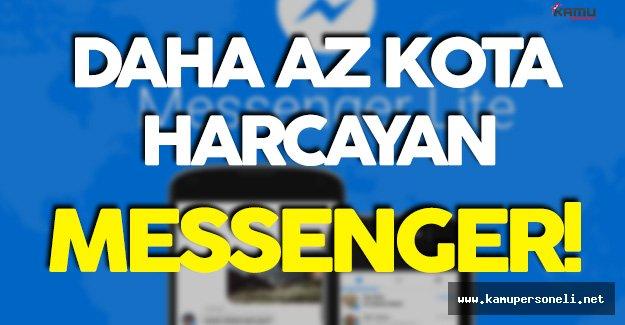 Az Kota Yiyen Facebook Messenger Kullanıma Sunuldu!