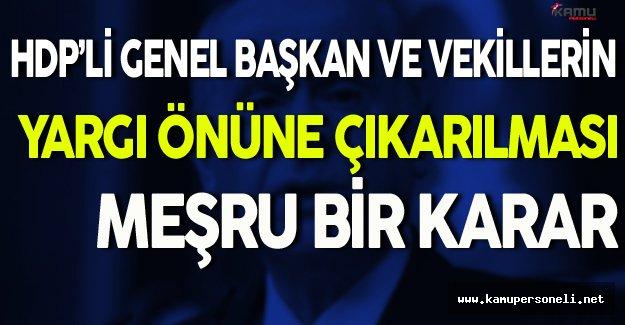 Bahçeli HDP'lilerin Yargı Önüne Çıkarılması Hakkında Konuştu