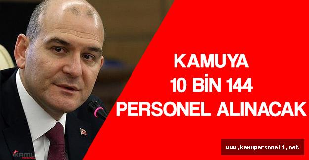Bakan Açıkladı 'Kamu Kurum ve Kuruluşlarına 10 Bin 144 Personel Alımı Yapılacak'