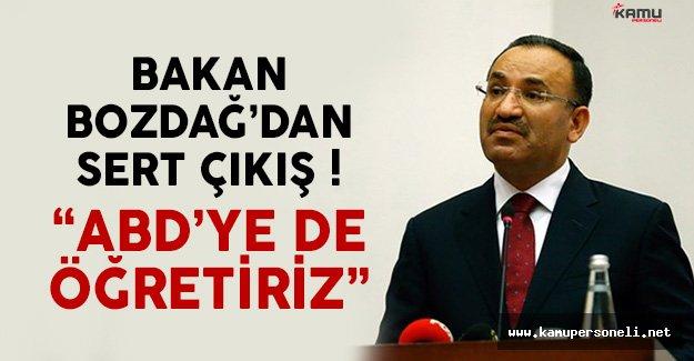 Bakan Bozdağ'dan ABD Ankara Büyükelçiliği'ne Sert Çıkış !