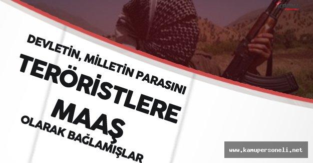 Bakan Özhaseki Açıkladı! 'Teröristleri Maaşa Bağlamışlar'