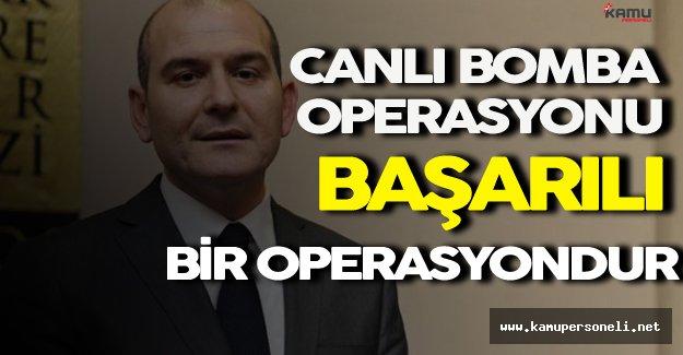 Bakan Soylu Ankara'da ki Canlı Bomba Operasyonu Hakkında Konuştu