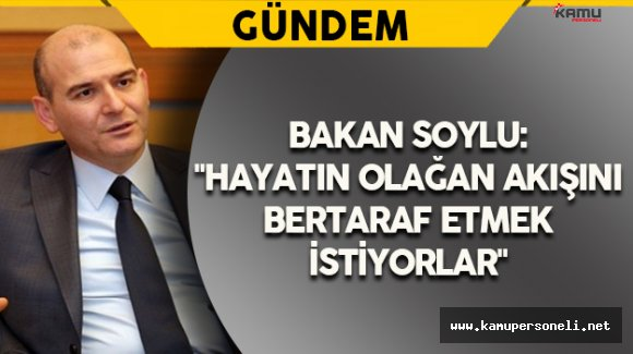 Bakan Soylu'dan Gaziantep'teki Terör Saldırısına İlişkin Açıklama