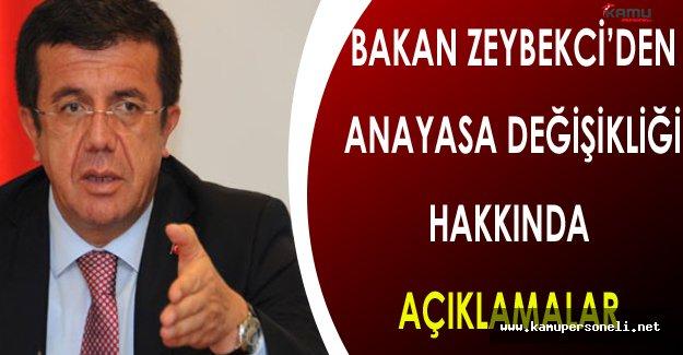 Bakan Zeybekci'den Yeni Anayasa Hakkında Açıklamalar ( Bu Görevi MHP İle İcra Ediyoruz )