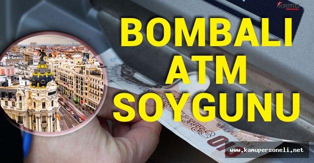 Bankamatikleri Bomba İle Patlatıp 140 Bin Euro Çaldılar