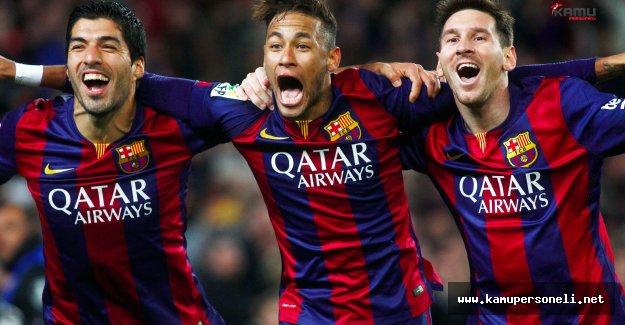 Barcelona'nın Süper Üçlüsü İş Başında