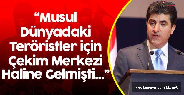 """Barzani : """" Musul'un Kurtarılması Tüm Dünya İçin Büyük Bir Olay"""""""