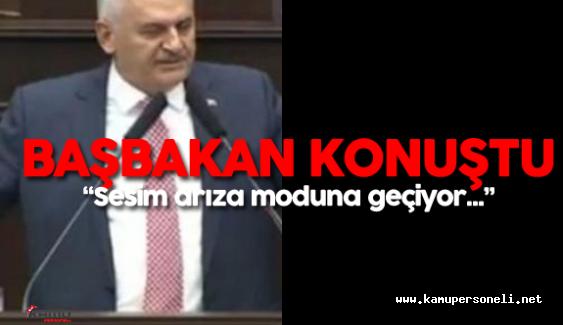 Başbakan Binali Yıldırım AK Parti Grup Toplantısında Konuştu